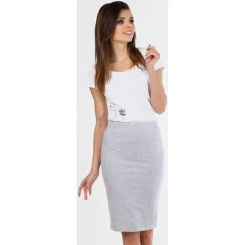 Vêtements Femme Jupes Viall Jupe model 87191 gris