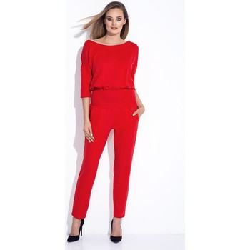 Vêtements Femme Combinaisons / Salopettes Bien Fashion Combinaison model 116088 rouge