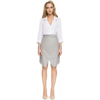 Vêtements Femme Jupes Style Jupe model 112650 gris