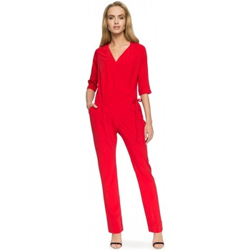 Vêtements Femme Combinaisons / Salopettes Style Combinaison model 112686 rouge