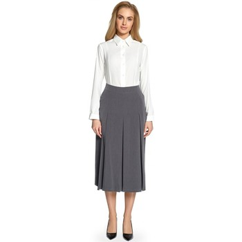 Vêtements Femme Jupes Style Jupe model 112550 gris