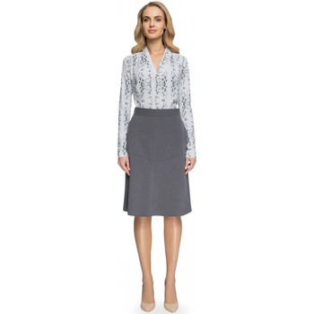 Vêtements Femme Jupes Style Jupe model 112566 gris