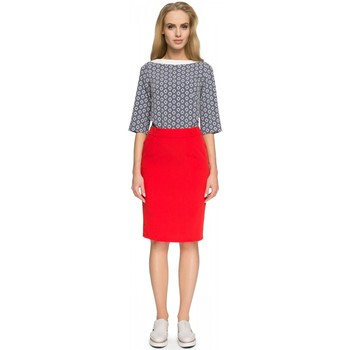 Vêtements Femme Jupes Style Jupe model 112836 rouge
