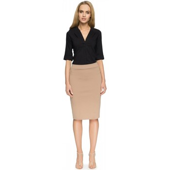 Vêtements Femme Jupes Style Jupe model 112834 beige