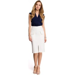 Vêtements Femme Jupes Style Jupe model 116677 beige