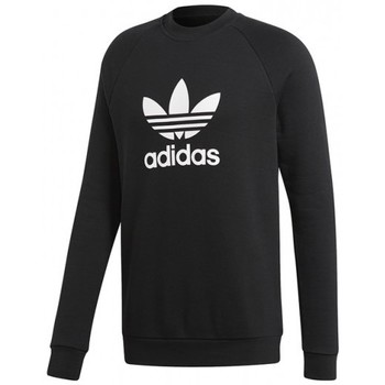 Vêtements Homme Pulls adidas Originals SWEAT  TREFOIL CREW / NOIR Noir