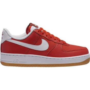 Chaussures Femme Baskets basses Nike ZAPATILLAS  AIR FORCE 1 '07 PREMIUM Rouge