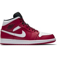 Chaussures Homme Baskets montantes Nike ZAPATILLAS  AIR JORDAN 1 MID GYM Rouge