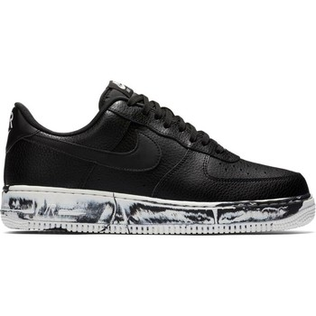 Chaussures Homme Baskets basses Nike ZAPATILLAS  AIR FORCE 1 '07 LV8 Noir