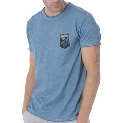 Vêtements Homme T-shirts manches courtes Shilton T-Shirt Flower Pocket fantaisie Blue