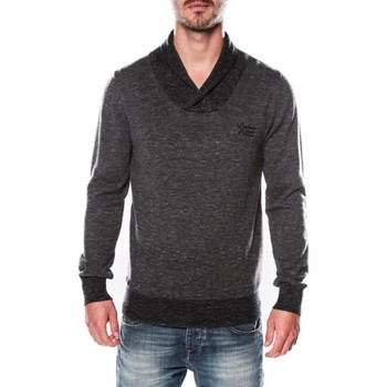Pull Deeluxe Pull Col Châle Gris