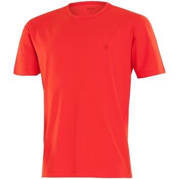 Vêtements Homme T-shirts manches courtes Impetus Beachwear Tee shirt homme col rond rouge vermillon Rouge