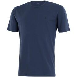 Vêtements Homme T-shirts manches courtes Impetus Beachwear Tee shirt homme col rond bleu marine Bleu