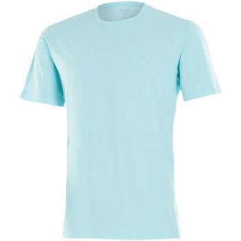 Vêtements Homme T-shirts manches courtes Impetus Tee shirt homme col rond vert d'eau Bleu