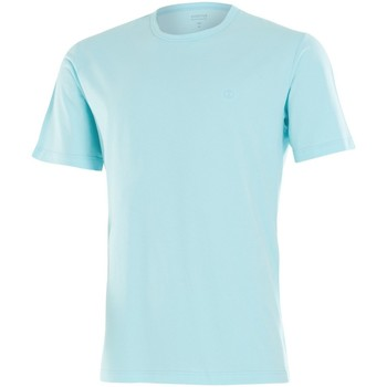 Vêtements Homme T-shirts manches courtes Impetus Beachwear Tee shirt homme col rond vert d'eau Bleu
