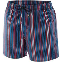 Vêtements Homme Shorts / Bermudas Impetus Beachwear Maillot de bain rayé homme Nil bleu Bleu
