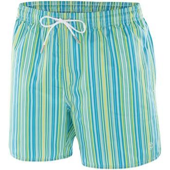 Vêtements Homme Shorts / Bermudas Impetus Beachwear Maillot de bain rayé homme Nil bleu jaune Bleu