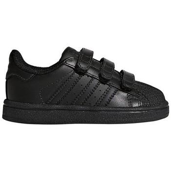Chaussures Baskets basses adidas Originals SUPERSTAR CF I / NOIR Noir