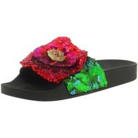 Chaussures Femme Claquettes Thewhitebrand l-0187 noir