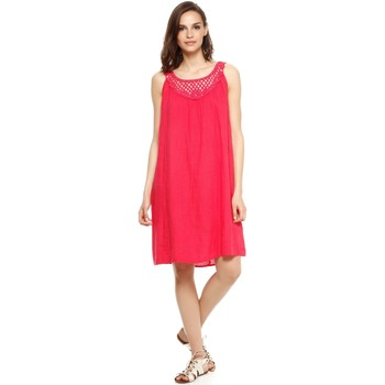 Vêtements Femme Robes Doucel robe ample en lin ROMANTIK CONNIE rose