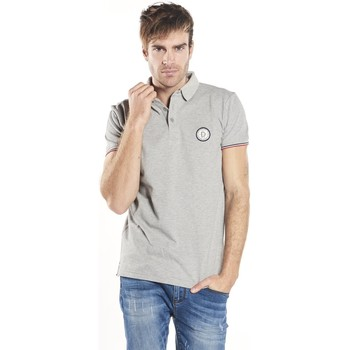 Vêtements Homme Polos manches courtes Deeluxe Polo Frankie grischine