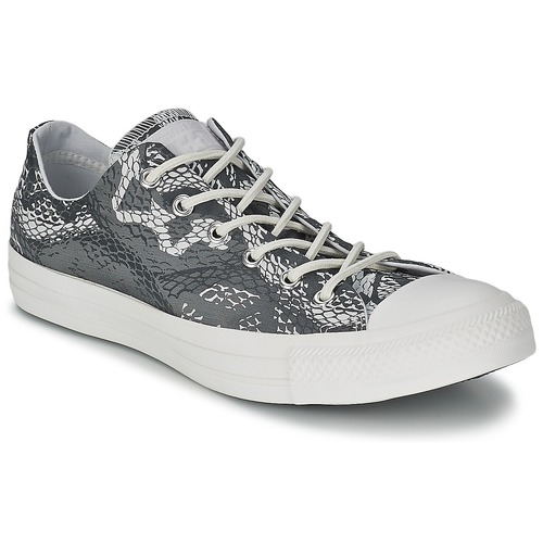 Baskets mode Converse CT REPT PRT OX Noir / Blanc 350x350