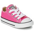 Chaussures Fille Baskets basses Converse Chuck Taylor All Star SEASON OX Rose