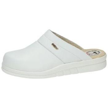 Chaussures Homme Sabots Dchus  Blanc