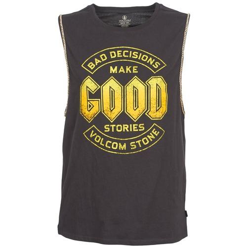 Vêtements Femme Débardeurs / T-shirts sans manche Volcom BALL N CHAIN Noir