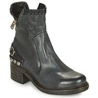 Chaussures Femme Boots Airstep / A.S.98 NOVA 17 BLUE ET NOIR