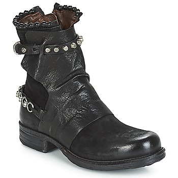 Chaussures Femme Boots Airstep / A.S.98 SAINT 14 NOIR