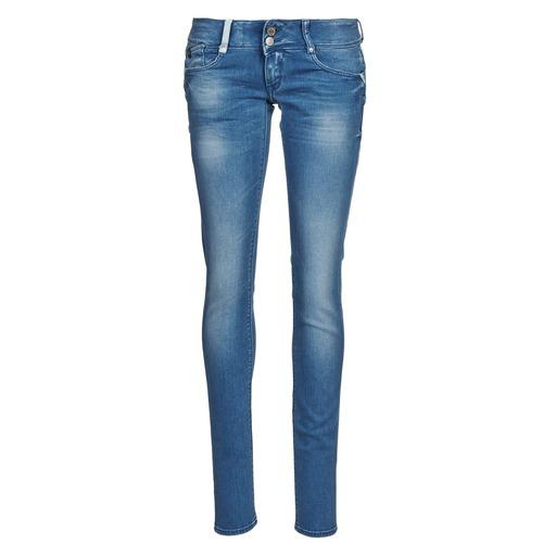 Vêtements Femme Jeans slim Le Temps des Cerises 216 Bleu Clair