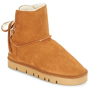 Chaussures Femme Boots Casual Attitude JICOTINA Camel