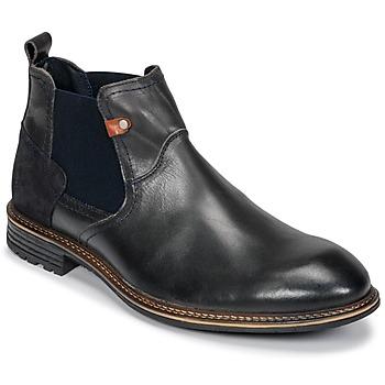 Chaussures Homme Boots Casual Attitude FIORELLA Gris Foncé 600ea4b7624b