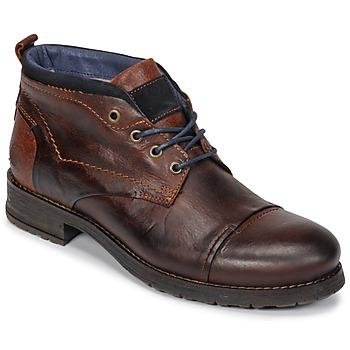 Chaussures Homme Boots Casual Attitude JABILON Marron