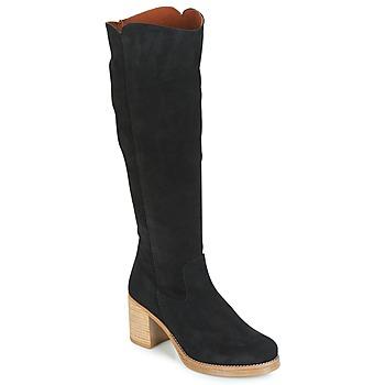 Chaussures Femme Bottes ville Casual Attitude HAPI Noir
