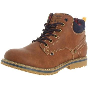 Chaussures Femme Boots Wrangler wj17210 f cognac