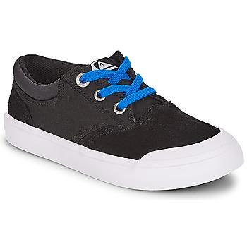 Chaussures Garçon Baskets basses Quiksilver VERANT YOUTH Noir