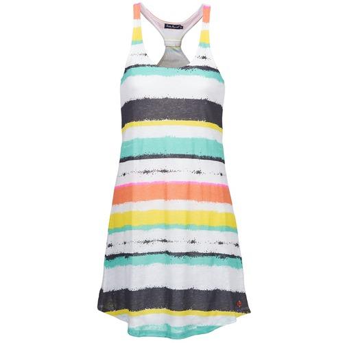 Vêtements Femme Robes courtes Little Marcel ROSINA Blanc / Multi