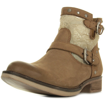 Chaussures Femme Low boots Bunker SOLY NF44 Sand marron