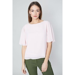 Vêtements Femme Chemises / Chemisiers Click Fashion Chemisier model 113557 rosé