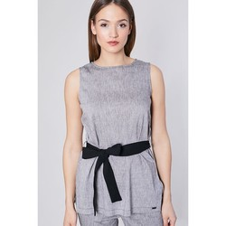 Vêtements Femme Tuniques Click Fashion Tunique model 117866 gris