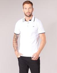 Vêtements Homme Polos manches courtes Jack & Jones JJEPAULOS Blanc