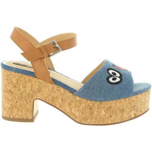 fb7e18f870feee MTNG 50775 LENA Azul - Chaussures Sandale Femme GH8HUA1Z -  lesincorruptibles.fr