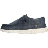 Chaussures Homme Baskets basses Hey Dude WALLY PERFORATED Sneaker Homme Bleu Bleu