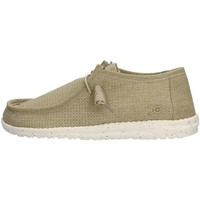 Chaussures Homme Baskets basses Hey Dude WALLY PERFORATED Sneaker Homme Beige Beige