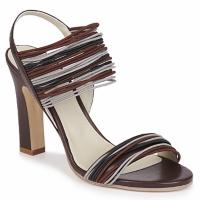 Chaussures Femme Sandales et Nu-pieds Jil Sander JS16121 Marron