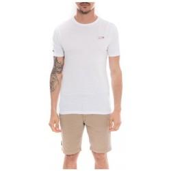 Vêtements Homme T-shirts manches courtes Ritchie T-shirt col rond en coton NAMASKA Blanc