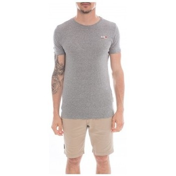 Vêtements Homme T-shirts manches courtes Ritchie T-shirt col rond en coton NAMASKA Gris foncé