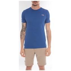 Vêtements Homme T-shirts manches courtes Ritchie T-shirt col rond en coton NAMASKA Royal